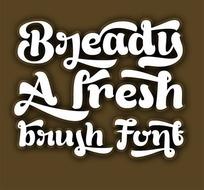 Bready 肥胖字体