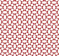 白色不规则方形四方连续图案