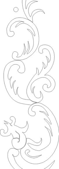黑白花纹素材图片_黑白花纹设计素材