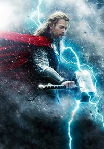 雷神2海报--闪电里的托尔