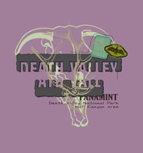 死谷国家公园海报宣传设计