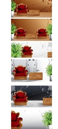 家具公司宣传展示画