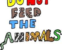 创意字母动物园提示语
