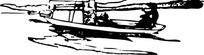 河里的小船