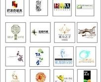 各种商业地产楼盘标志合集-巴洛克积木 尚都