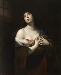 油画—袒胸露乳的古代欧洲女人