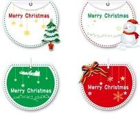 矢量圣诞节标签设计