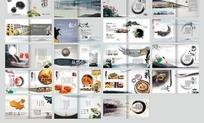 古典水墨风山东康泉食品有限公司宣传画册