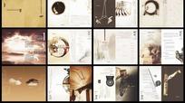 中国古典风的化传播策划画册