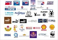 外国企业品牌历史新旧标志集合