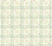 棕色绿色格子和红色六角形构成的图案
