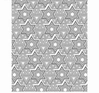 灰色三角形和六角形构成的图案