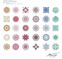 中国传统花纹素材