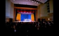 传统曲艺视频 戏院舞台的京剧表演