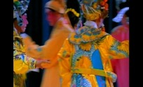 传统曲艺戏曲视频 舞台上的生角演员