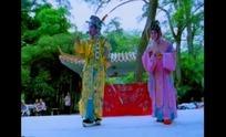 传统戏曲视频 京剧舞台的蛋角和生角