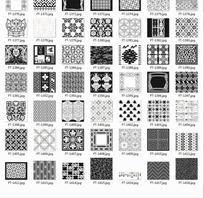 底纹合辑—重复图案和菱形网格以及花纹