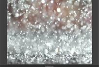 短片视频  下雨白花花的雨滴