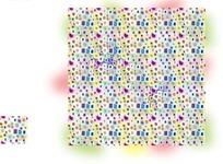 艺术背景花纹 温馨彩色的卡通马赛克斑纹