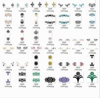 装饰图案—各种各样的美丽花纹图案
