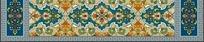 古典花纹卷纹图案