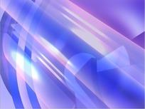 视频短片 旋转紫蓝色的绚丽光速光彩