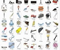 各种徽章旗帜 矢量 航海简笔画图标