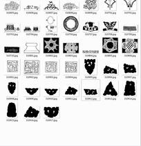 中国古典图案合辑-碗花纹等图案