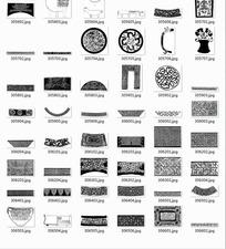 中国古典图案合辑-碗青铜器纹等图案