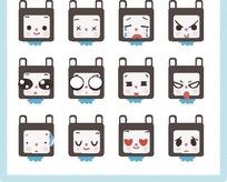 卡通小猫表情