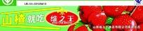 维之王山楂专卖的宣传展板