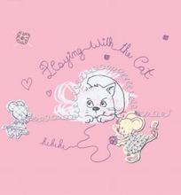 矢量卡通插画-猫和老鼠