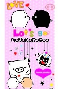 卡通小猪五角星笔记本封面