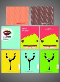 卡通鲨鱼笔记本封面