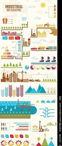 工业活动图案
