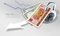 锁住人民币和美元纸币的密码锁