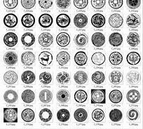铜钱纹等自定义形状文件csh格式