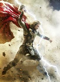 雷神2海报-从风暴中跳出来的雷神