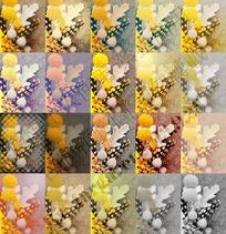 100个多彩磨皮调色动作