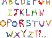 英文艺术字母