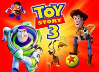 动漫角色—渐变背景前的玩具总动员3角色psd素材