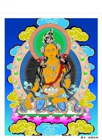 财源天母佛像