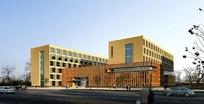 学术交流中心大楼3ds模型