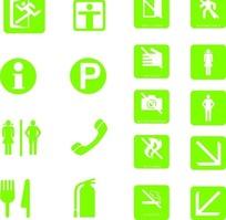 CDR格式各种标志牌