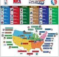 各种NBA标志