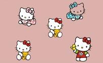 hello kitte卡通猫素材