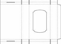 方形开窗包装结构设计