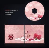 浪漫婚礼光盘封面设计