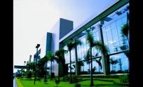 绿化广场商业大楼