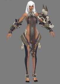 XLF_fin剑灵模型